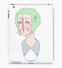Cute Lady iPad Case/Skin