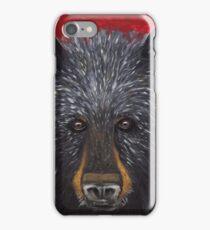Great Smoky Mountains Black Bear Portrait iPhone Case/Skin