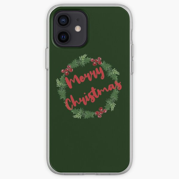 Merry Christmas and Happy New Year iPhone Soft Case