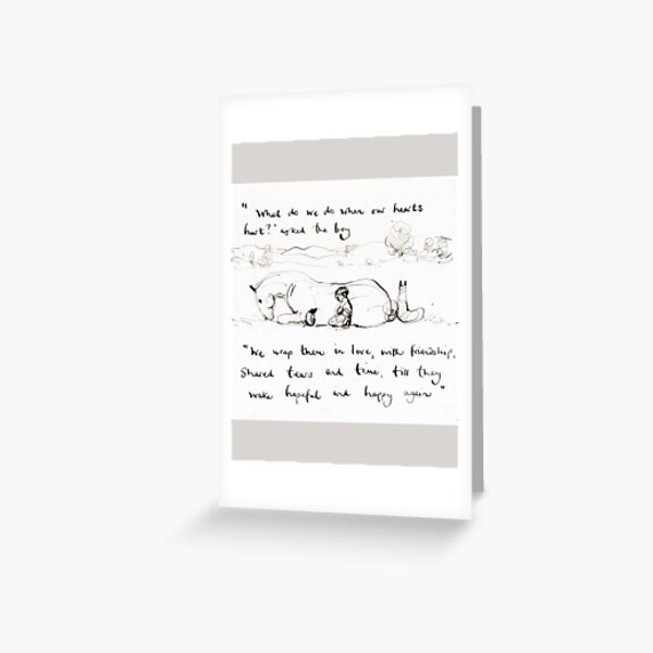 Charlie Mackesy - Wrap Them In Love Greeting Card