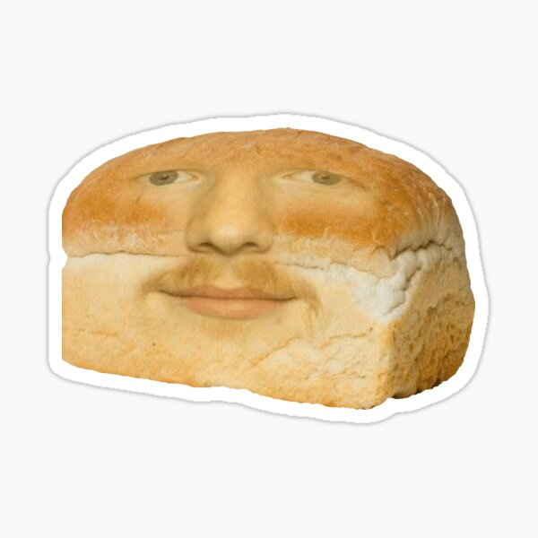Bread sheeran sticker Sticker