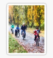 Family Bike Ride Sticker