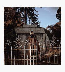 Cemetary Gates Photographic Print
