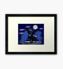 Sweet Dreams - Nightmare Moon Framed Print