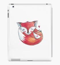 Fox Love Watercolor iPad Case/Skin