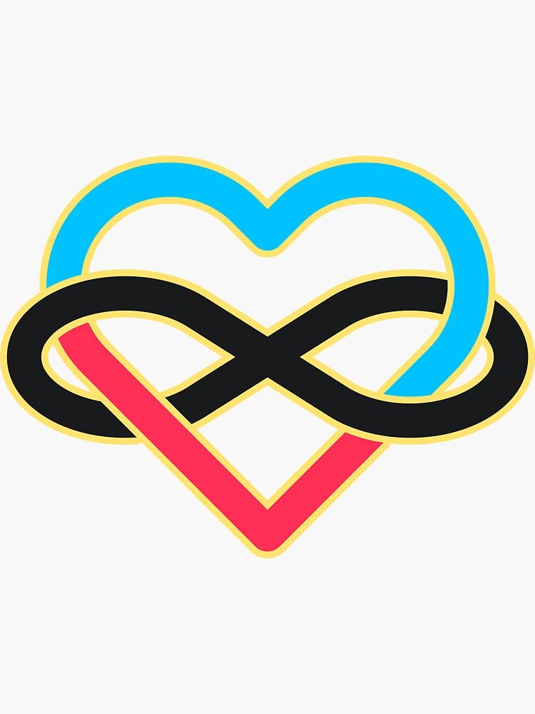 Polyamory Infinity Heart by TheGoodChad