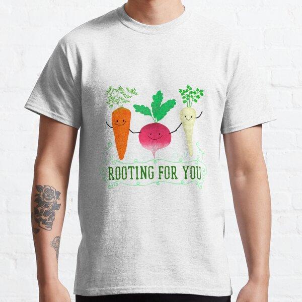 Wurzelgemüse wird in ausgefallenen Gerichten und Rezepten immer beliebter.  Classic T-Shirt