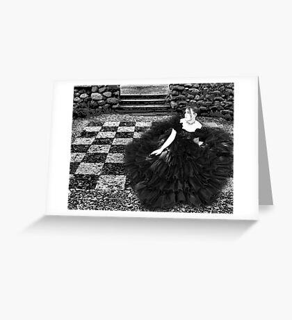 SHE WONDERED Greeting Card