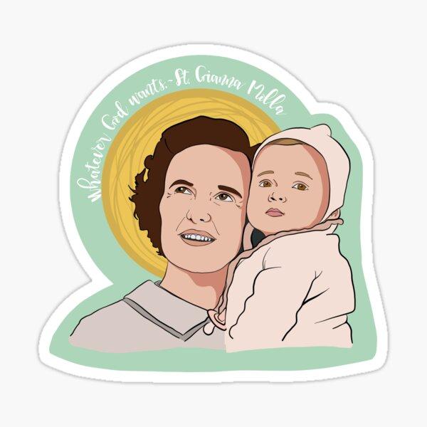 St. Gianna Molla Sticker