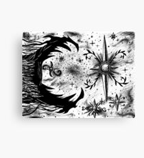 Death Star Canvas Print
