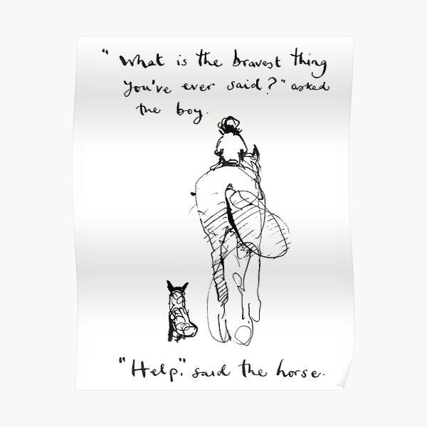 Charlie Mackesy - Brave Poster