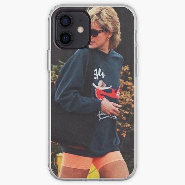 Princess Diana Street Style iPhone Soft Case