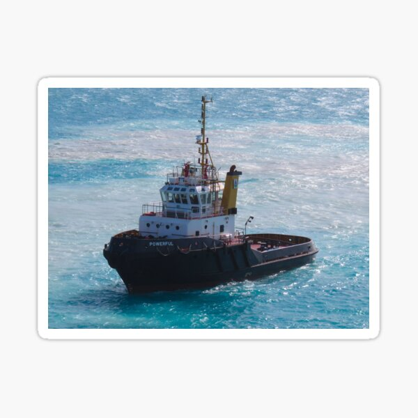 The Little Tugboat that Could Sticker