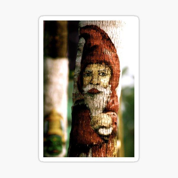Santa Bark Sticker