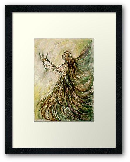 The Virgin (Virgo) by Leni Kae