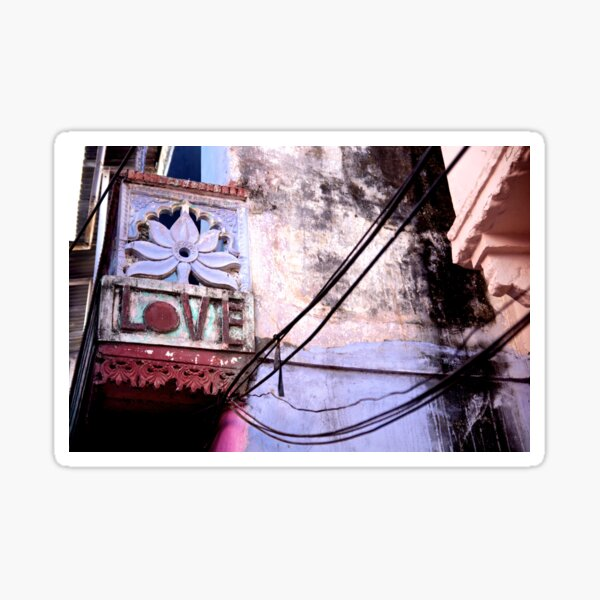Love from India Sticker