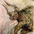 The Raging Bull (Taurus) by Leni Kae