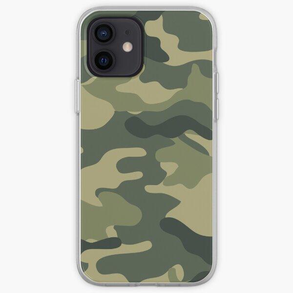 Camo khaki iPhone Soft Case