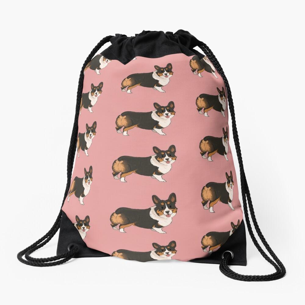Marnie the corgi! Drawstring Bag