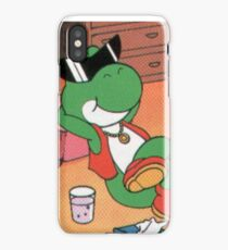 Chill yoshi iPhone Case