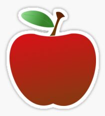 Delicious Red Apple Sticker