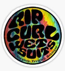 RipCurl Tiedye Sticker