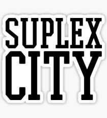 Suplex City Sticker