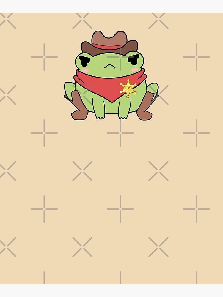 Cute Cowboy Frog by ElectricFangs