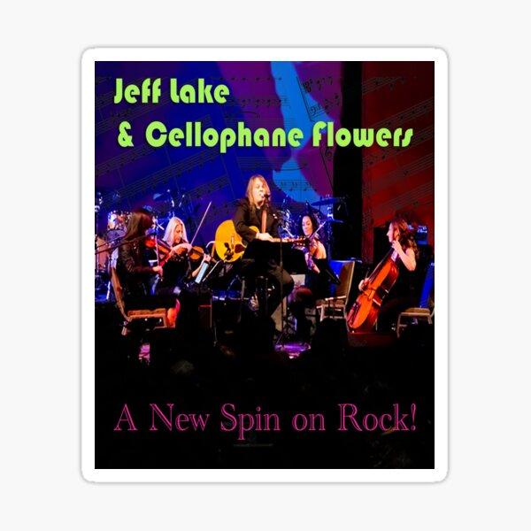 Jeff Lake & Cellophane Flowers Sticker