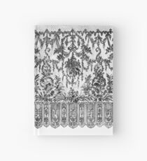 Black Lace Tapestry Hardcover Journal