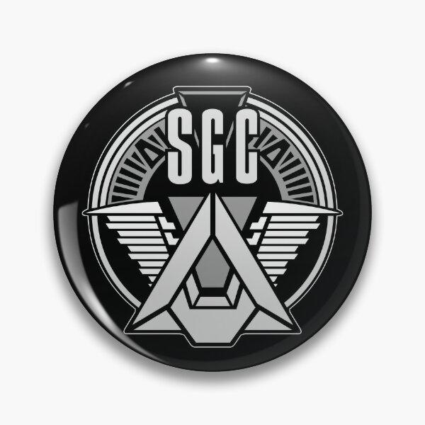 COMMANDE SGC STARGATE Badge
