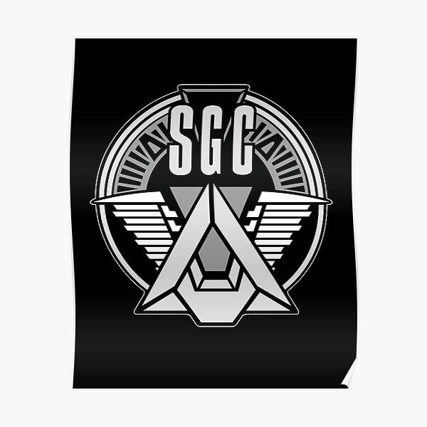 COMMANDE STARGATE SGC Poster