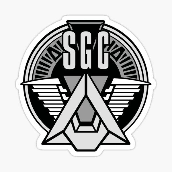 COMMANDE STARGATE SGC Sticker