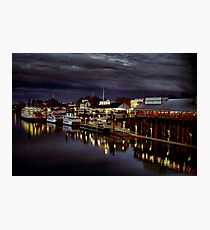 Night on the Sacramento Waterfront Photographic Print