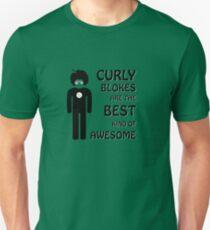 Curly Blokes Unisex T-Shirt
