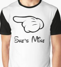 """She's Mine (Matches with """"He's Mine"""") Graphic T-Shirt"""