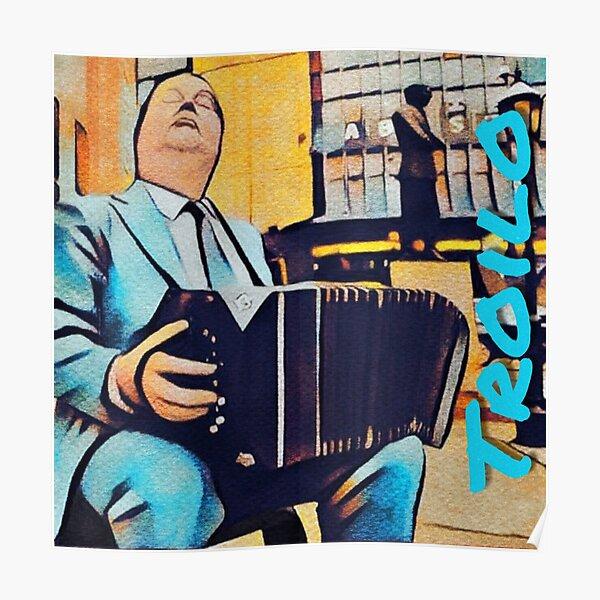 Troilo Abastos Paseo del Tango Pop Art Poster