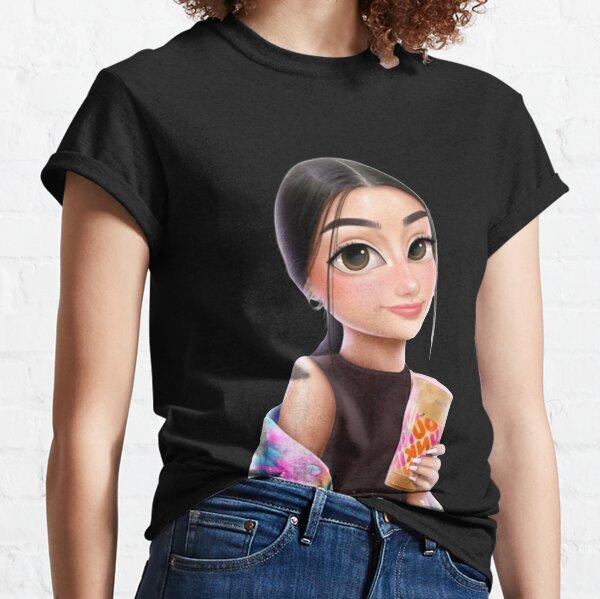 Conception Charli Damelio Rose T-shirt classique
