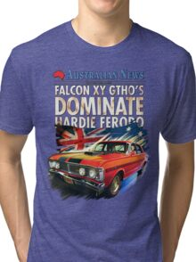 Ford Falcon XY GTHO Phase III (nostalgic) © Tri-blend T-Shirt