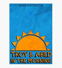 Community - Troy and Abed in the morning Photographic Print
