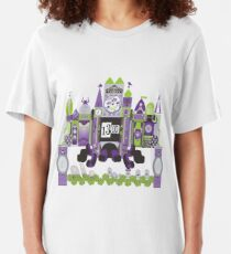 Is This Small World Actually Stretching? Slim Fit T-Shirt