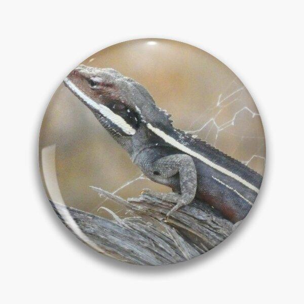 Gilbert's Dragon On a Log Pin