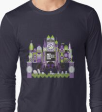 Is This Small World Actually Stretching? (for Darker Rides) Long Sleeve T-Shirt