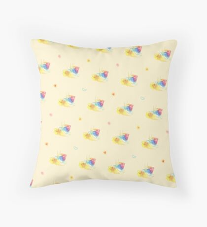 Stephabric Throw Pillow