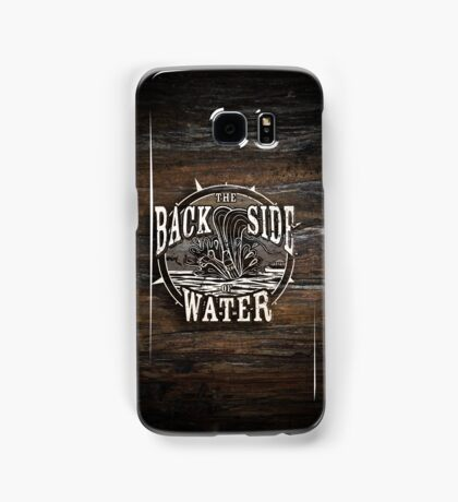 Back Side of Water (White) Samsung Galaxy Case/Skin