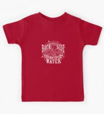 Back Side of Water (White) Kids Tee