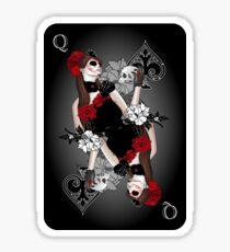 Queen of Spades Sticker