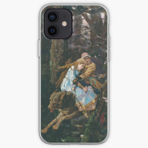 Ivan Tsarevich Riding the Grey Wolf Viktor Vasnetsov iPhone Soft Case