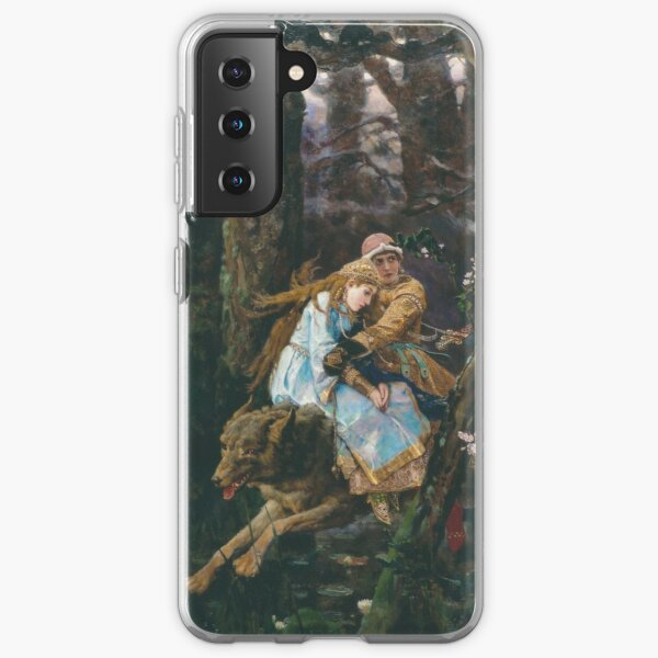 Ivan Tsarevich Riding the Grey Wolf Viktor Vasnetsov Samsung Galaxy Soft Case