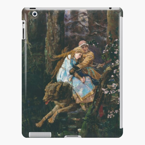Ivan Tsarevich Riding the Grey Wolf Viktor Vasnetsov iPad Snap Case